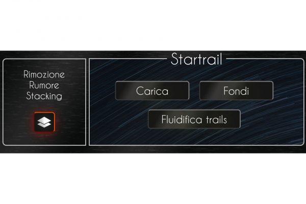 Riduzione Rumore Stacking e Fusione Star-Trails